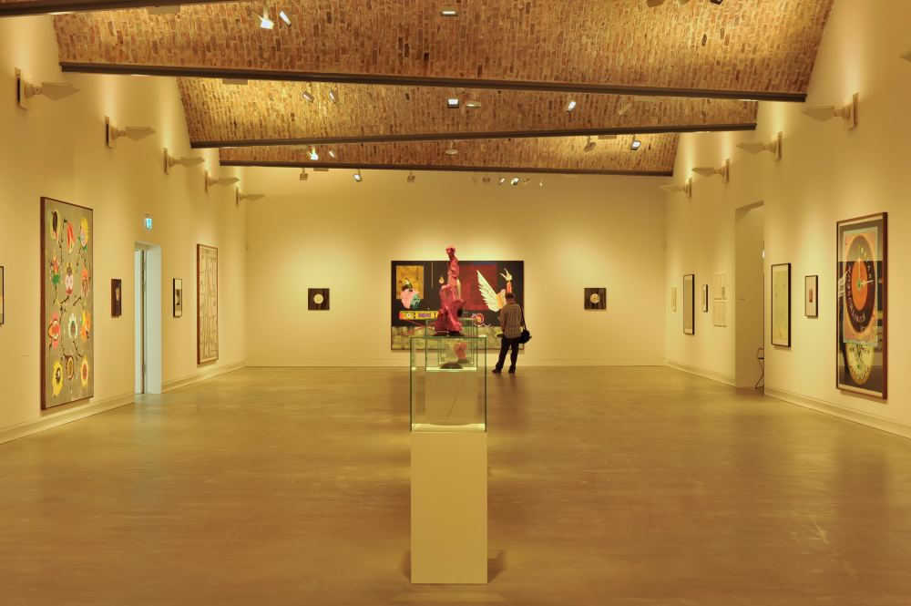 Interior view of the world's first Passive House museum
