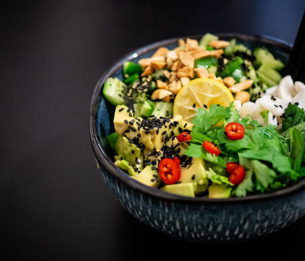 Picture of salad